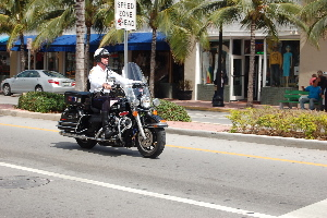 Florida Miami Beach Police officer
